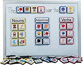 Fun Express Sentence Building Foam Magnets (103 Pieces) Language Teaching Aids