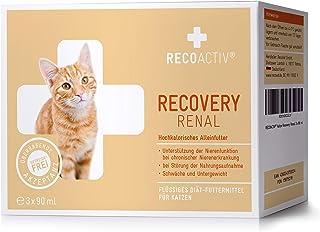 RECOACTIV® RECOVERY Renal für Katzen 3 x 90 ml - Hochkalorisches Diät Alleinfuttermittel f. Katzen mit Nierenfunktionsstörungen, in der Rekonvaleszenz und zur Gewichtszunahme, bei Nahrungsverweigerung