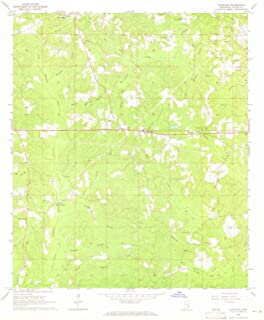 Mississippi Maps - 1964 Whistler, MS USGS Historical Topographic Map - Cartography Wall Art - 44in x 55in