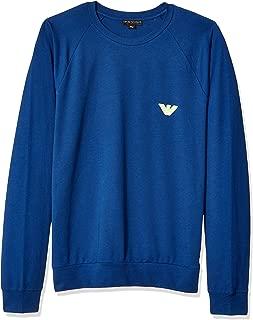 Emporio Armani Men's Big Eagle Crew Neck Sweater