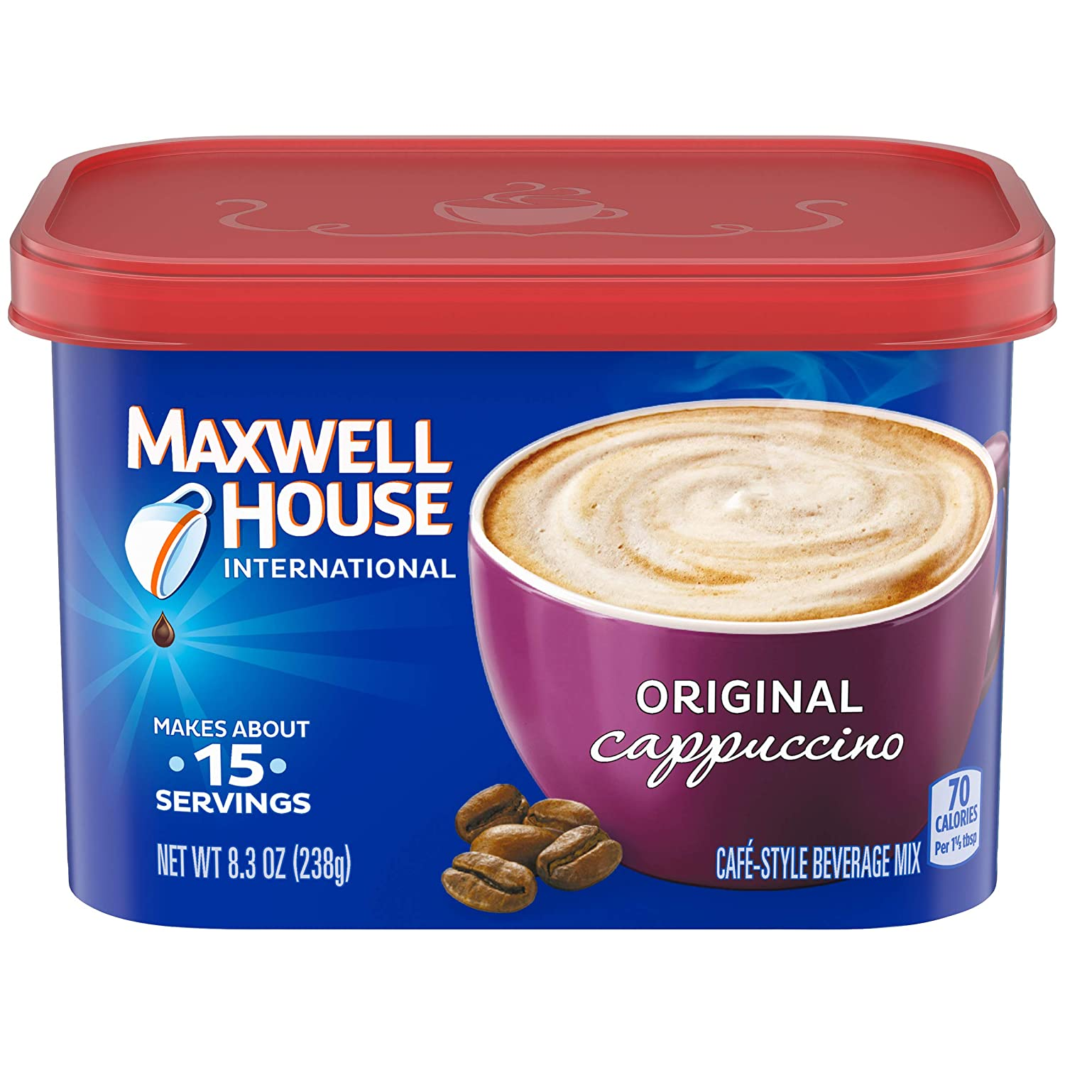 Maxwell House Sale special price International Original Instant Fort Worth Mall Cappuccino Coffee