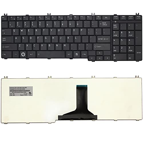 New for Toshiba Satellite C650 C650D C655 C655D L655 L650D laptop Keyboard black