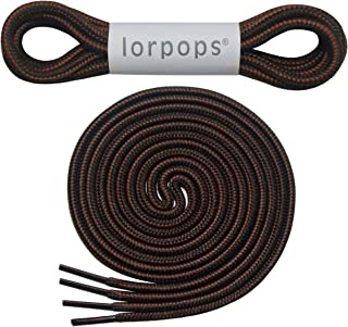 Heavy Duty and Durable Shoelaces for Boots,(2 Pairs) Work Boots & Hiking Shoes