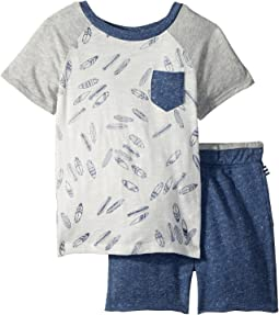 Surfboard Tee Set (Toddler)