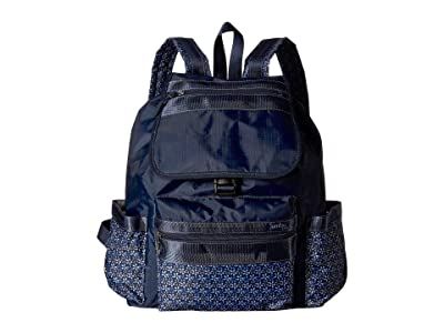 Jambu Drawstring Backpack (Navy) Backpack Bags