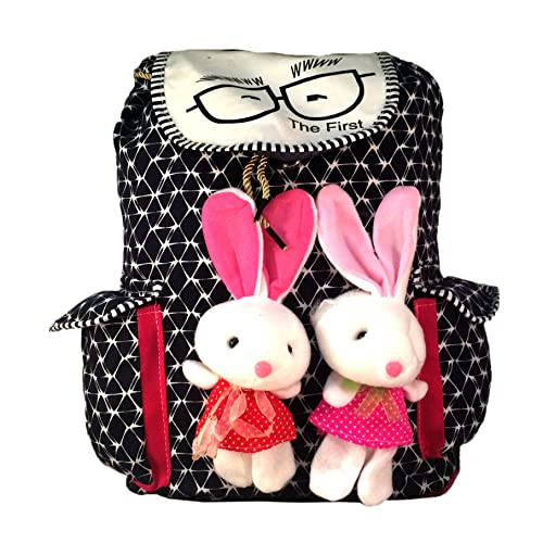Deal Especial new stylish Bunny backpack Multicolored colors bag gift & sales 213C