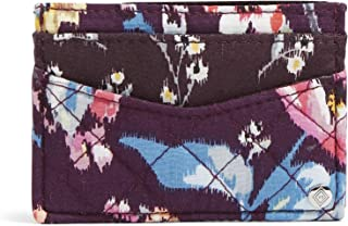 Vera Bradley womens Iconic Slim Card Case, Signature Cotton