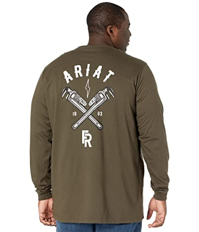 Ariat Big Tall FR Wrench Graphic Long Sleeve T-Shirt
