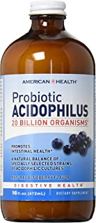 American Health Acidophilus, Blueberry, 12 Ounce