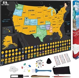 states traveled map