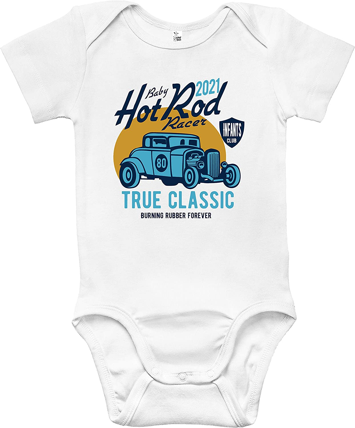 Baby Bodysuit - Hot Rod Boys Racer All items in the store Clothes depot for Infant