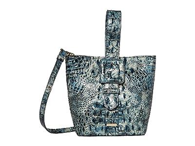 Brahmin Melbourne Faith Shoulder Bag (Glacier) Shoulder Handbags