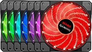 Mars Gaming MFRGB Ventola Gaming da 120mm RGB Lighting