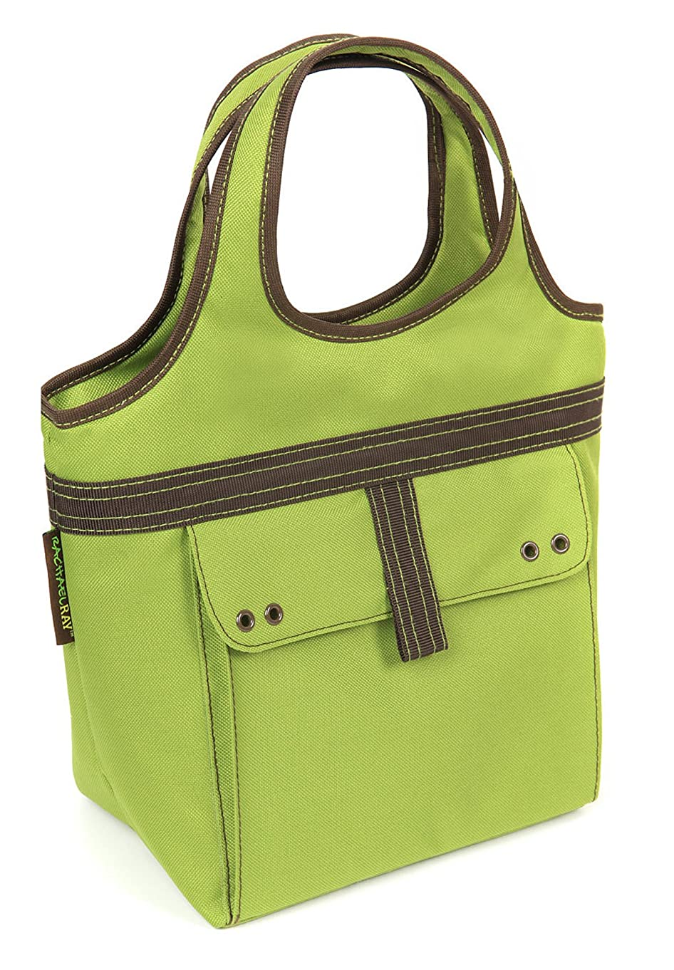 Rachael Ray Tic Tac Tote, Insulated Lunch Bag for Women & Kids, Green