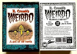 R. Crumb's Weirdo Card Set