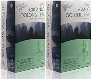 Prince Of Peace Organic Oolong Tea-100 Tea Bags net wt. 6.35oz (180g) (2)