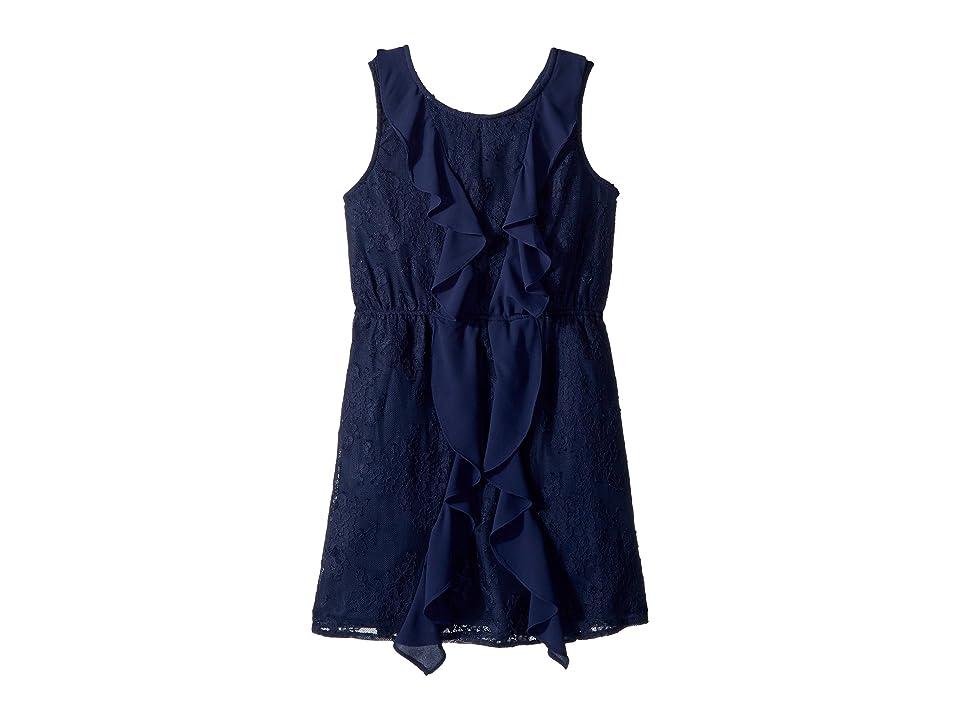 Bardot Junior Hallie Lace Dress (Big Kids) (Blue Ink) Girl
