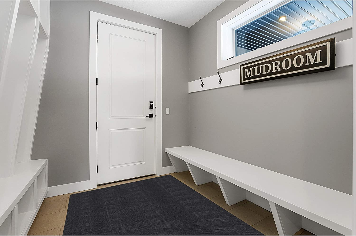 Mudroom Runner Rug Adhesive-Backed 3' x Non Low Slip Max 58% OFF Prof Online limited product 5' -