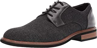 Unlisted by Kenneth Cole Mens Jimmie Plain Toe Lace Up B