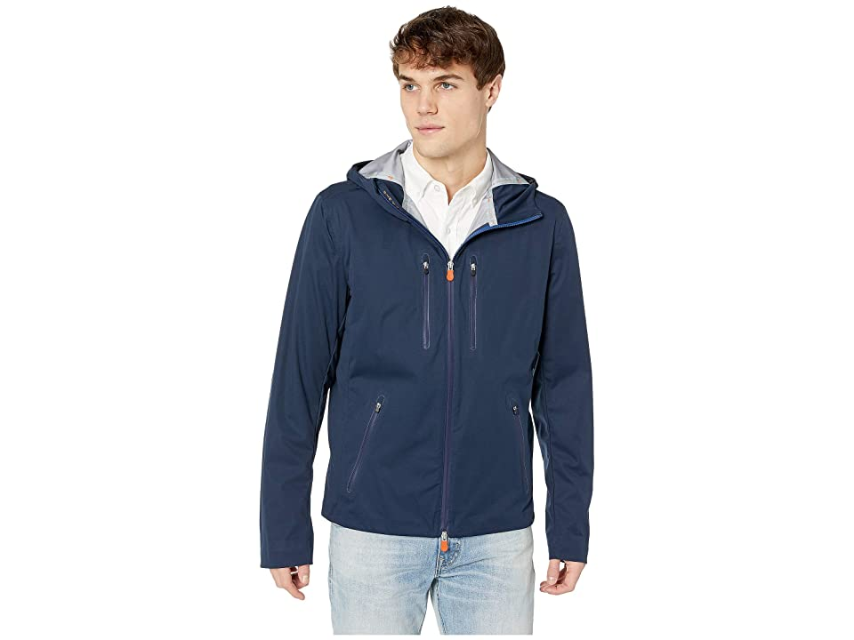 Save the Duck Short Rain Jacket (Navy) Men