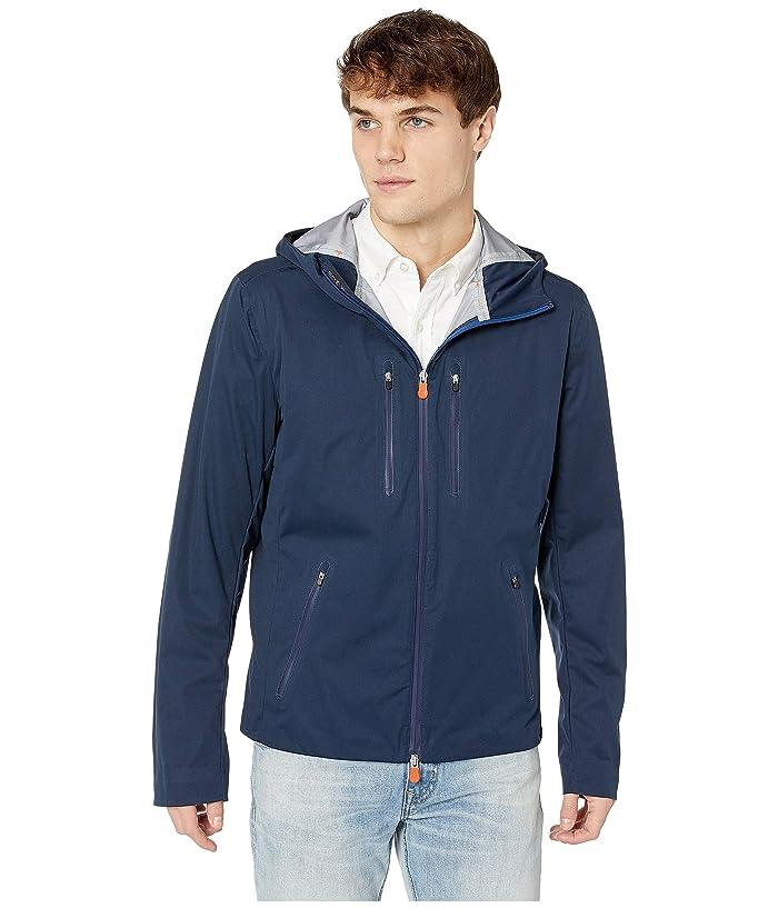 Save the Duck Short Rain Jacket (Navy) Men