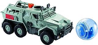 Jurassic World Camión Giroesfera de huída, juguete de la película (Mattel FMY86)