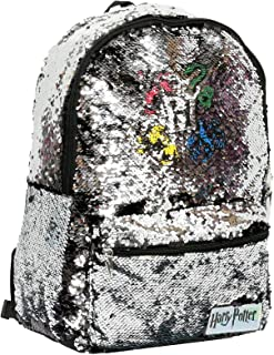 Backpack with Brushed Sequins