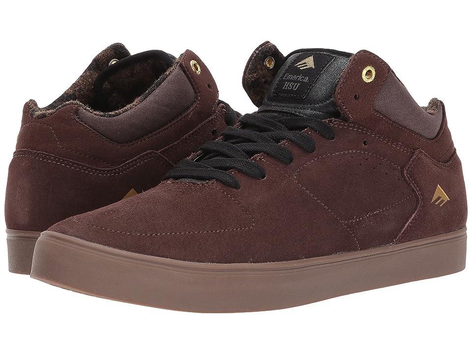 Emerica The HSU G6 (Dark Brown) Men