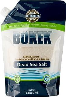 Bokek Dead Sea Salt, Coarse Coarse 2.2 lb Bag Coarse