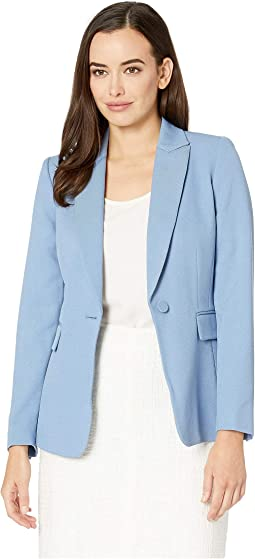Parket Twill One-Button Jacket