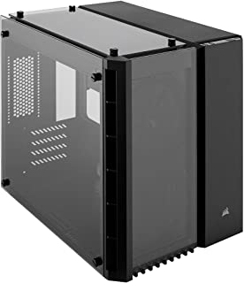 Corsair Crystal Series 280X - Caja de PC, ATX, tres paneles de cristal templado sin iluminación Nessun LED, Negro