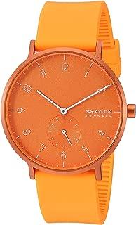 Skagen Analog Orange Dial Men's Watch-SKW6558