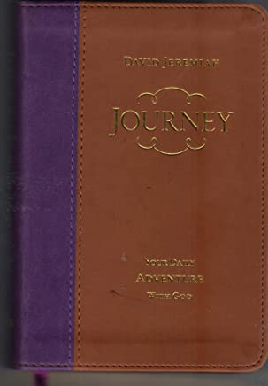 Journey Your Daily Adventure with God (Leather Edition)