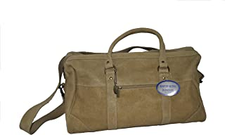 David King & Co Top Zip Duffel Tan, Tan (Beige) - 6291T
