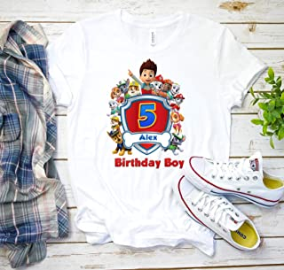 paw patrol birthday shirts for family mom dad sister brother, Custom personalized paw patrol birthday T-shirts for kids and adults K5