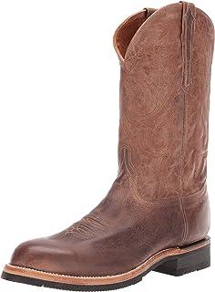 حذاء رجالي غربي صدئ من Lucchese Bootmaker