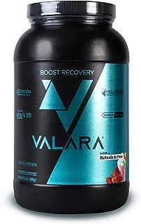 Valara Boost Recovery Isolate | 25 gr de proteína aislada de suero de leche + enzimas digestivas (Malteada de Fresa (908 gr))
