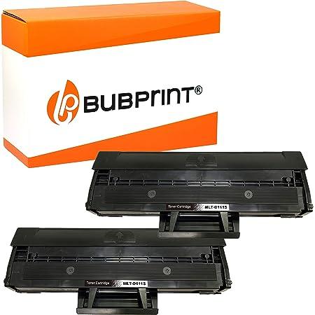 2 Bubprint Xxl Toner 200 Prozent Mehr Inhalt Kompatibel Für Samsung Mlt D111s Für Xpress M2020 M2020w M2021w M2022 M2022w M2026 M2026w M2070 M2070f M2070w M2070fw Schwarz Bürobedarf Schreibwaren