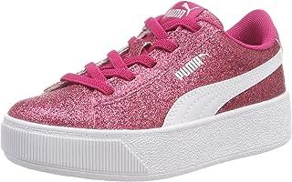 Puma Girls Vikky Platform Glitz Ac Ps Low-Top Sneakers