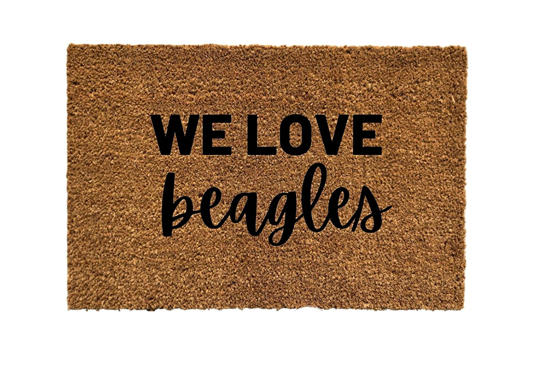 Gifts We Love We OFFer at cheap prices Beagles Door Doormat mat