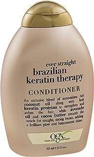 organix Ever Straight Conditioner Brazilian Keratin Therapy Pack of 1 Multi