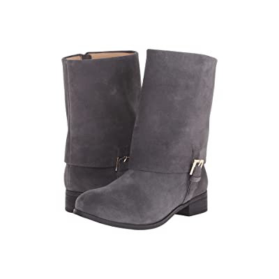 Trotters Limona (Dark Grey Cow Suede Leather) Women