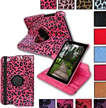 for 2012 Google Nexus 7 (ASUS) 1st Generation Premium Quality PU Leather Protective CASE Cover with Built-in 360° Rotating Stand Wake Up/Sleep Function!!!