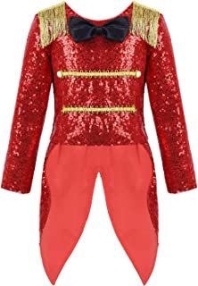 Agoky Infant Baby Girls Ringmaster Circus Show Costume Birthday Romper Halloween Cosplay Party Outfit