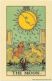 The Moon Tarot Card Poster - 11