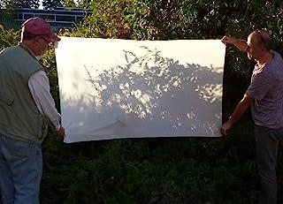 Alzo Diffusion Stoff Nylon Seide Weiß, Lichtformer, 1Yard lang 152,4cm breit, offene Kanten, scissor cut für Fotografie, Softbox und lichtzelten