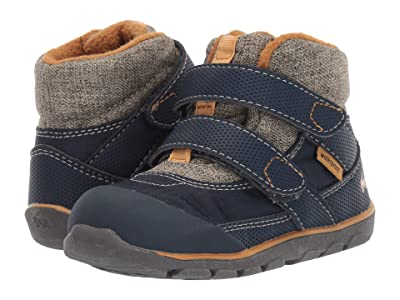 See Kai Run Kids Atlas II WP/IN (Toddler/Little Kid/Big Kid) (Navy/Khaki) Boy