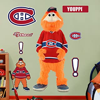 Fathead NHL Montreal Canadiens Montreal Canadiens Mascot - Youppi