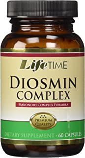 LifeTime Diosmin Flavonoid Complex | Circulation, Vein and Heart Health Support with Horse Chestnut | 60ct, 30 Serv