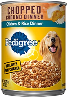 Best pedigree chopped ground dinner chicken and rice Reviews